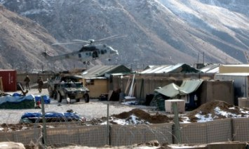Forward Operating Base Morales Frazier, Kapisa Province, Afghanistan